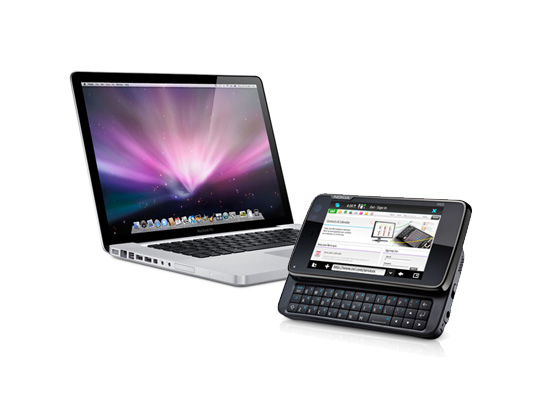 Connect to internet on a mac using a Nokia N900