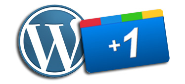 Add plus one button to WordPress site
