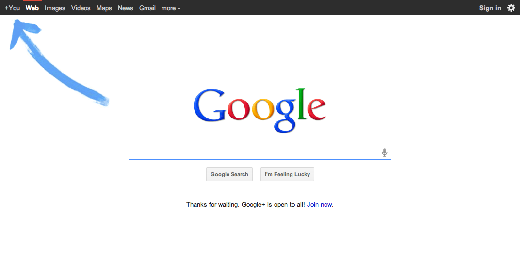 Google plus is public and open for everyone!