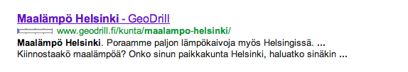 Maalämpö-in-gogle-content-optimization