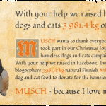 Successful Facebook campaign, case study MUSCH