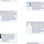 Make a WordPress timeline for comments (Facebook look-a-like)