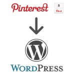 Add pinterest pin-it button to WordPress site