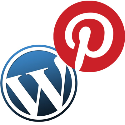 pinterest wordpress theme logos