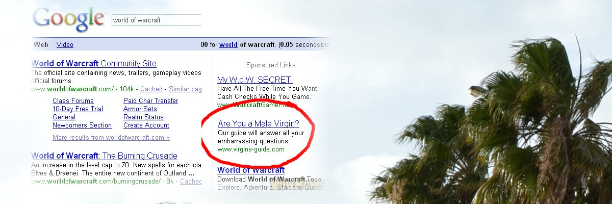 Clever Google Adwords Placement?