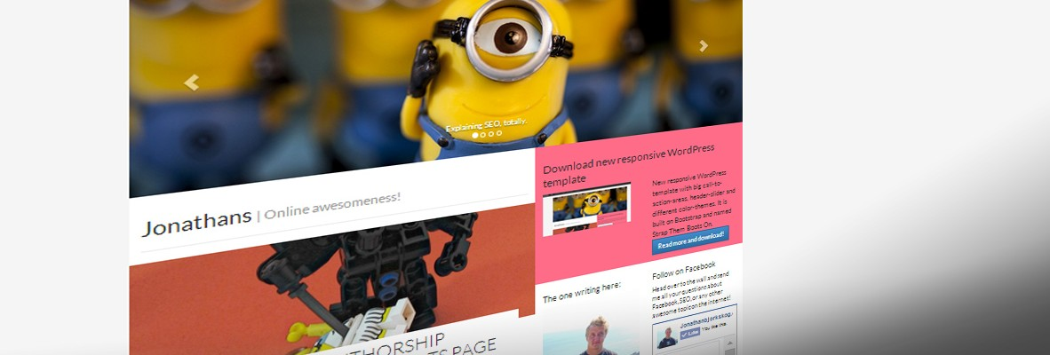 Strap them boots on theme – A new WordPress bootstrap template